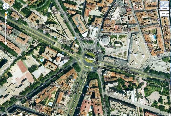 Sitio De Puerta De Toledo Visitando Madrid 2009 Vs 2012