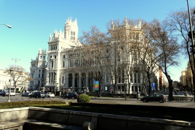 visitando sala de masaje paseo en Madrid