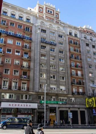 Edificio Lope de Vega, Gran Via 55 (1945-1949), de Joaquín y Julián Otamendi