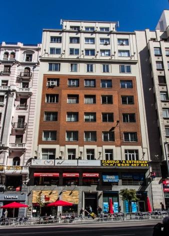 Edificio Vita, Gran Vía 62 (1929-1932), de Miguel García-Lomas Somoano, ...