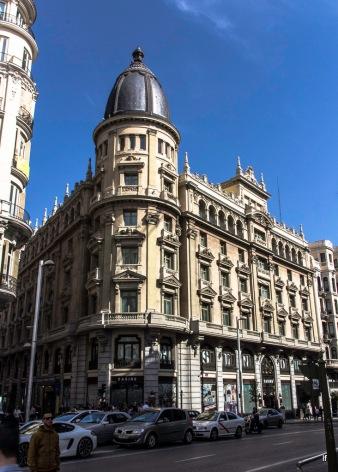 Círculo de la Unión Mercantil e Industrial, Gran Via 24 (1918-1924), de Joaquín y Luis Sáinz de los Terreros