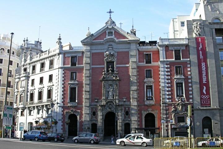 Calle de Alcalá 43, La Iglesia de San José