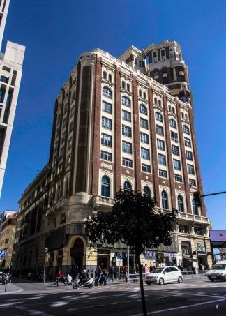 Gran Vía 46 (1924-1928), Palacio de la Prensa, de Pedro Muguruza Otaño y Rafael García.