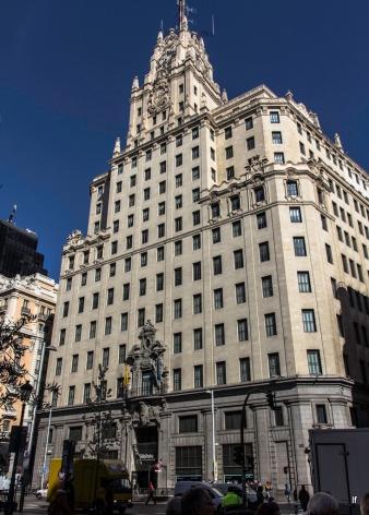 Edificio Telefónica, Gran Via 28 (1926-1929), de Ignacio de Cárdenas