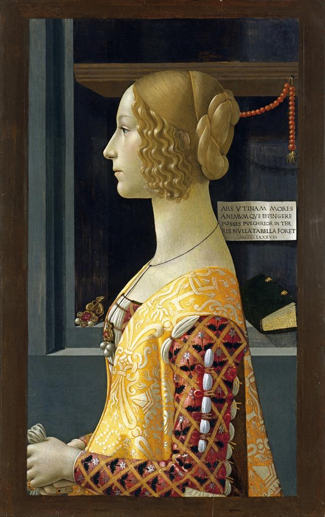 17-GHIRLANDAIO, Domenico_Retrato de Giovanna Tornabuoni