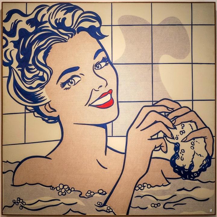 Roy Lichtenstein - Woman in Bath